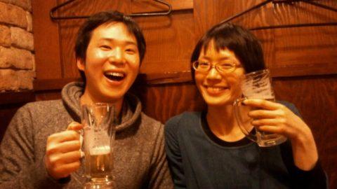2人とも酒好き